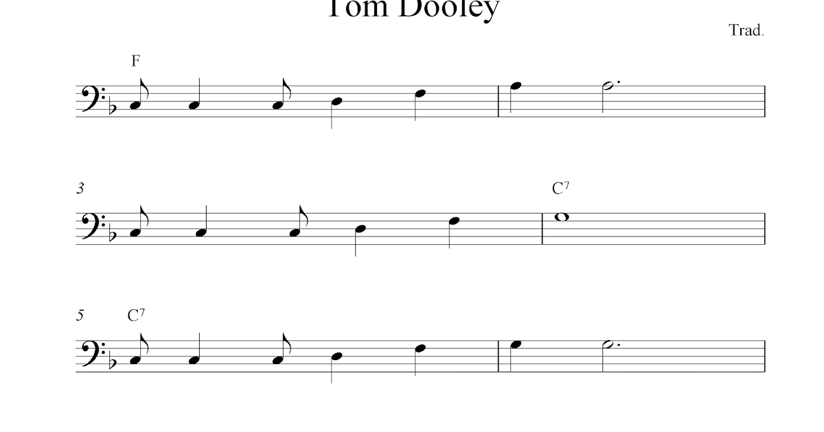 Snap Free Bass Guitar Tab Tom Dooley Photos On Pinterest