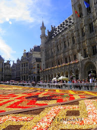the flower carpet