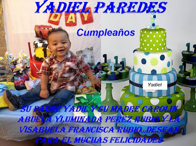 YADIEL PAREDES HOY CUMPLEAÑOS