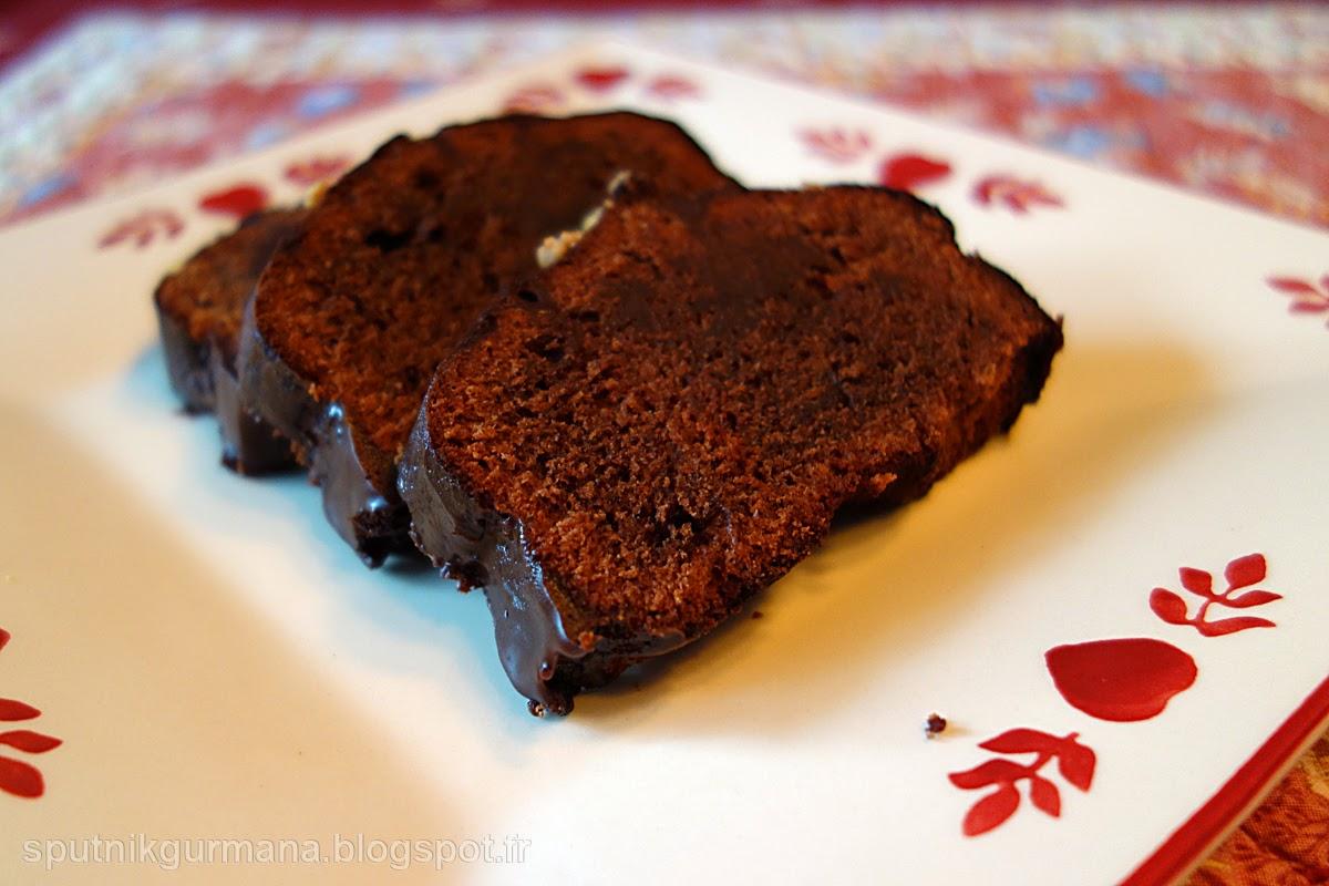Шоколадный кекс с пряностями