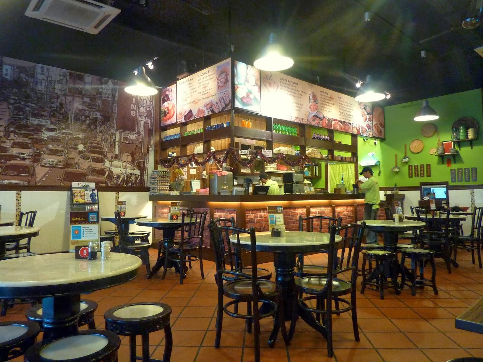 Penang food for thought roti bakar kafe for Roti food bar