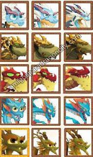 imagen de la actualizacion de los dragones puros de dragon city