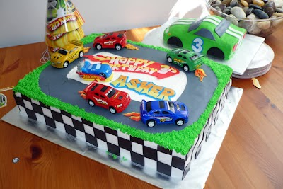 Tortas Hot Wheels, parte 1