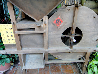 Paper umbrella making tool in Meinong Culture Village Kaohsiung