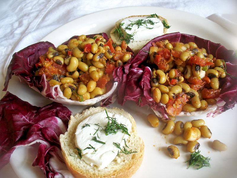 Black Eyed Peas Recipes Indian Black Eyed Pea Salad With