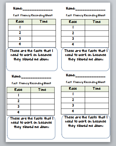 math worksheet : third grade thinkers building math fact fluency with speed tracks : Math Fact Fluency Worksheets