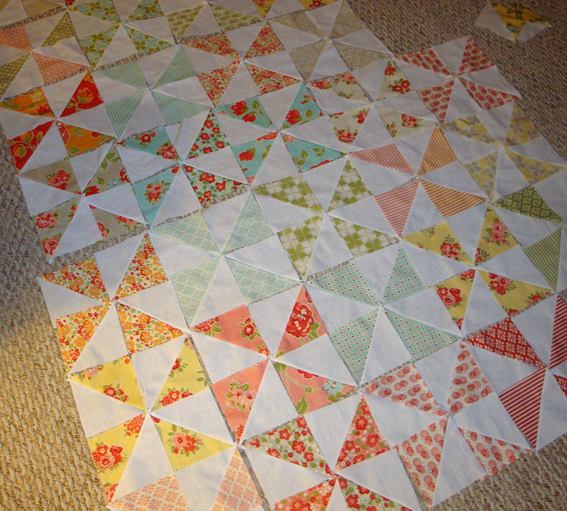 Studio Stuff Pinwheel Quilt I Just Started