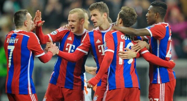 Bayern Munchen Pesta Gol 7-0 Saat Menjamu Shakhtar Donetsk