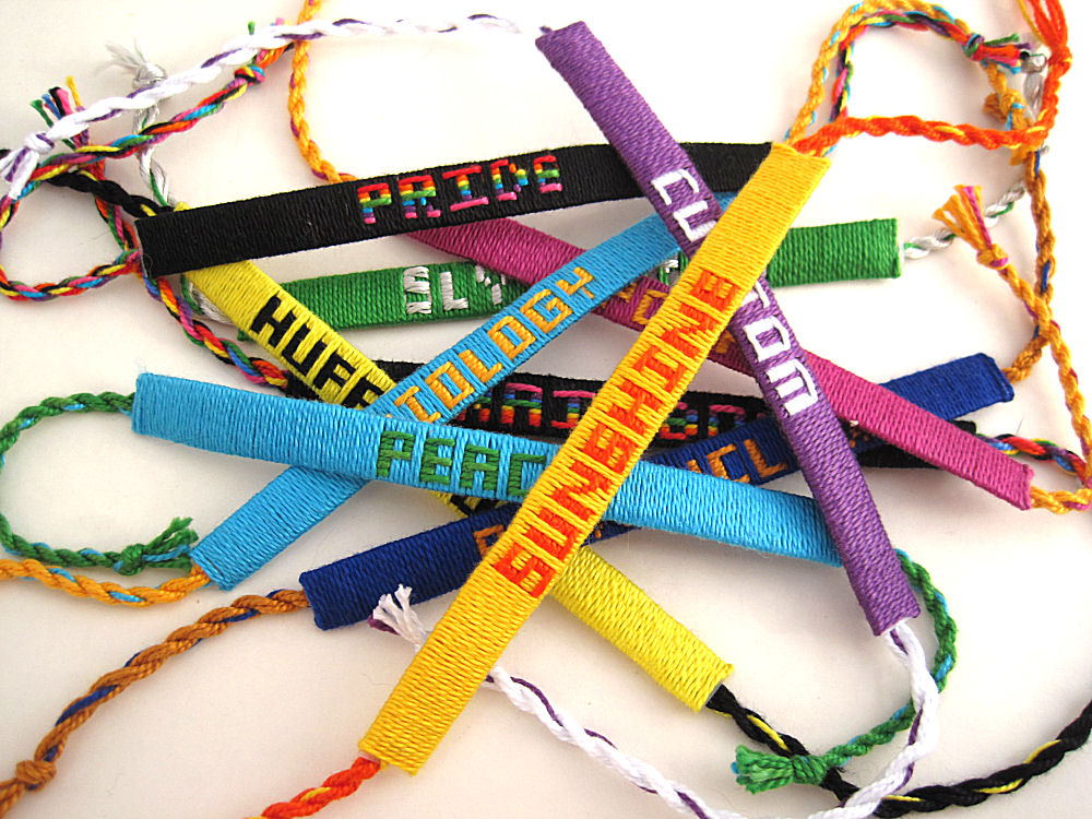 Woven Name Bracelets