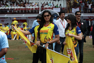 Indian Actresses Pictures at CCL 3 Chennai Rhinos Vs Bhojpuri Dabangs Match 0021