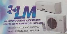 LM Ar-condicionados e acessórios.