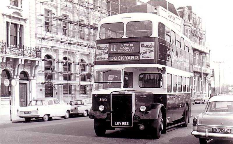 Double Decker of the 1950's