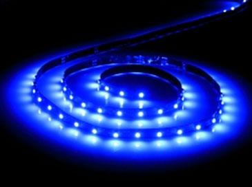1m Flexible Blue LED Strip Light (single color)