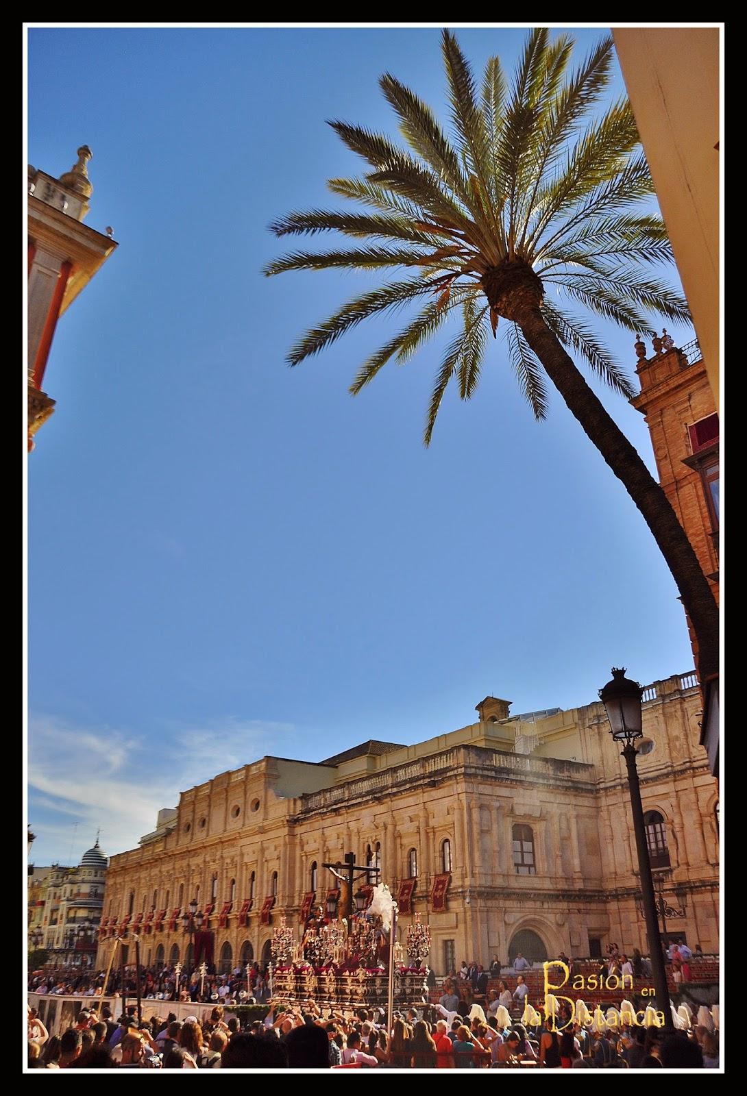 Misterio Cristo del Desamparo y Abandono por Carrera Oficial Sevilla 2015
