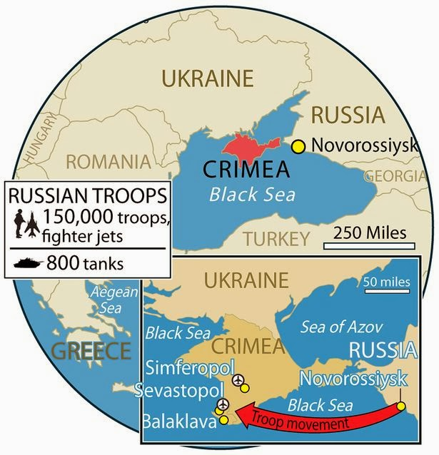 Springtime of Nations Ukraine Loses Grip on Crimea Prepares for