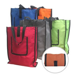 CENTRUM LINK - 300D FOLDABLE TOTE BAG - Code 2338