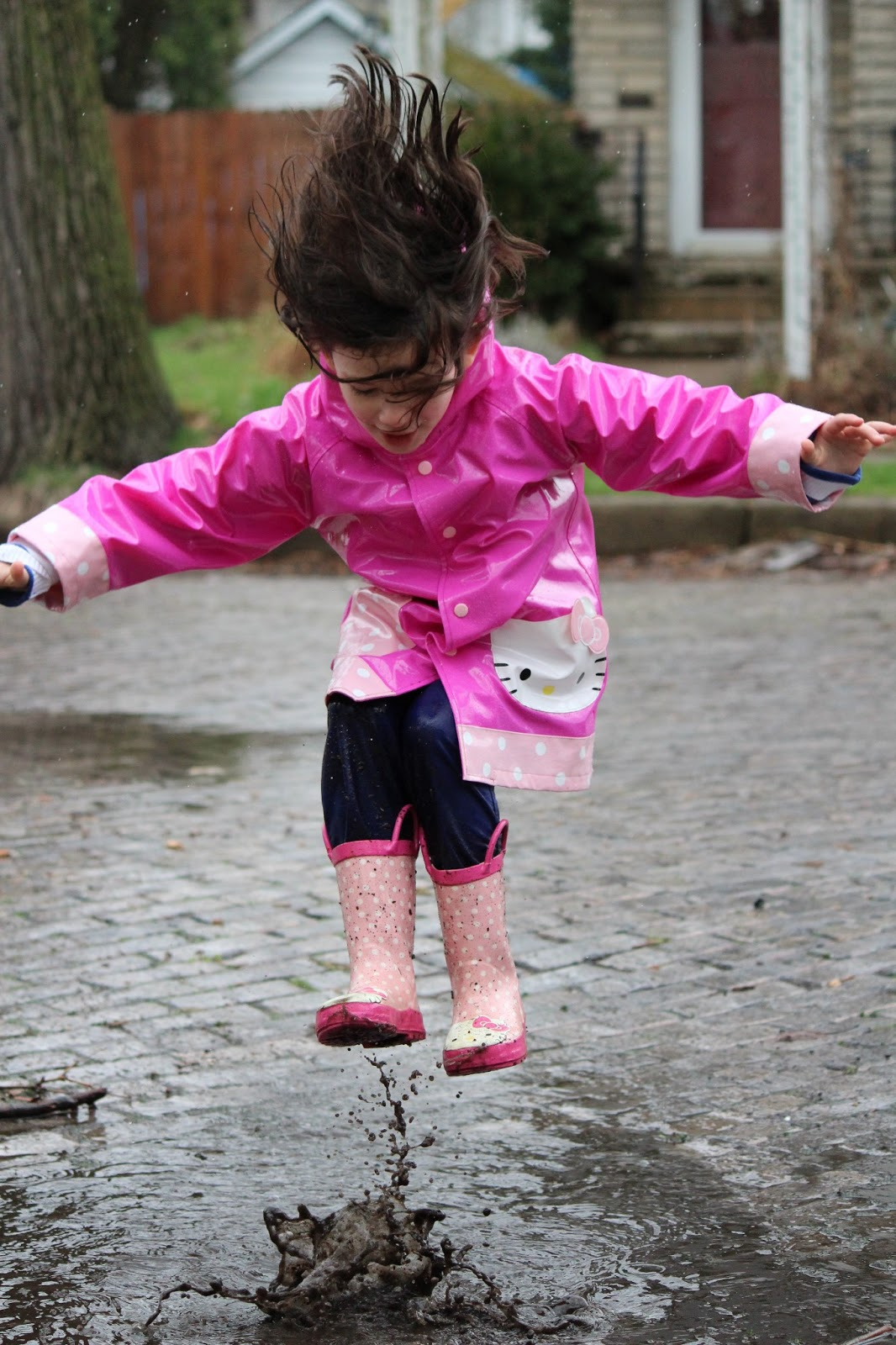 Super Busy at Home: Puddle Jumpers