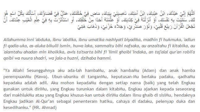 Doa Penenang Hati yang Gelisah dan Beban Pikiran