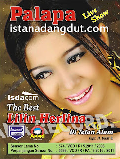 cover album, album the best of lilin herlina, new pallapa, new pallapa best lilin herlina, 2013