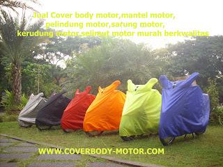 Jual selimut motor murah produksi Tulungagung