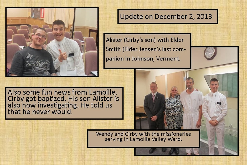 December 2, 2014 Cirby's Baptism