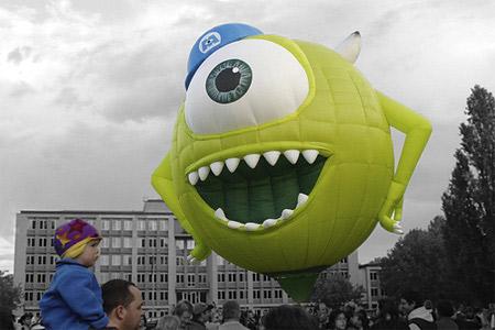 Los mas curiosos diseños de globos aerostáticos