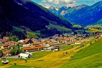 Alps St Anton am Arlberg in summer