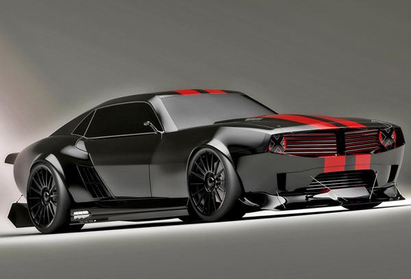 Pontiac Firebird TT Black Edition Concept