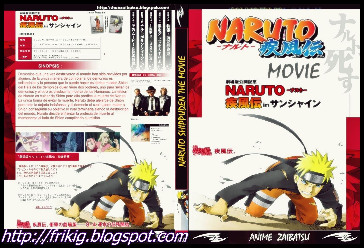 DVDRip  Descargar Saga  Pleta De Pel  Culas De Naruto Shippuden