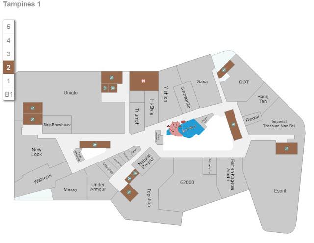 Tampines 1 - Blackball Store Location