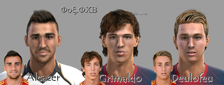PES 2012 Spain U19 Facepack by Fox