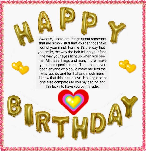 Romantic Happy Birthday Letter to My Boyfriend | Happy Birthday Wishes