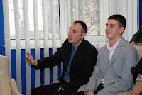 Рабой Андрей и Федоренко Дмитрий на научно-практическом семинаре