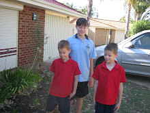 My Kiddies on their fist day of school 2011