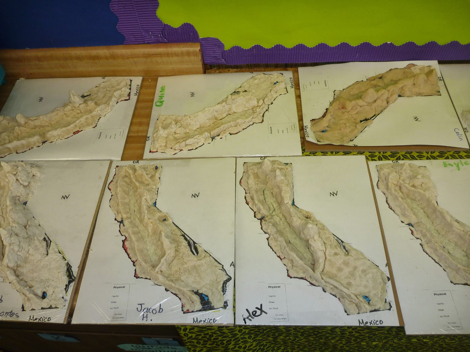 Explorations of a Fourth Grade Teacher: California Topographical ...