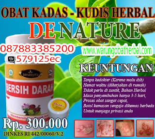 Obat Kadas, Kurap dan Kudis - De Nature Indonesia