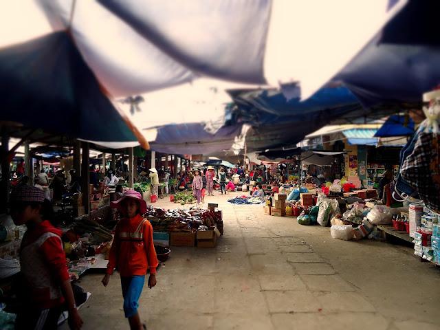 Chợ Xuân Lộc Sông Cầu