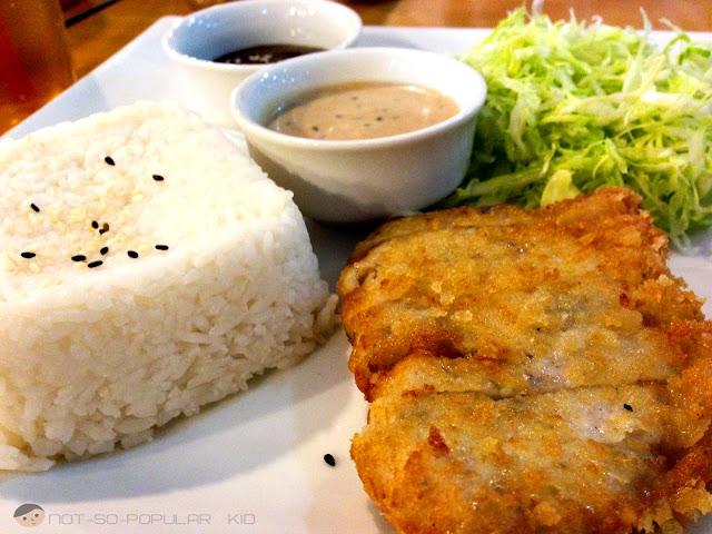 Chicken Tonkatsu of King Katsu