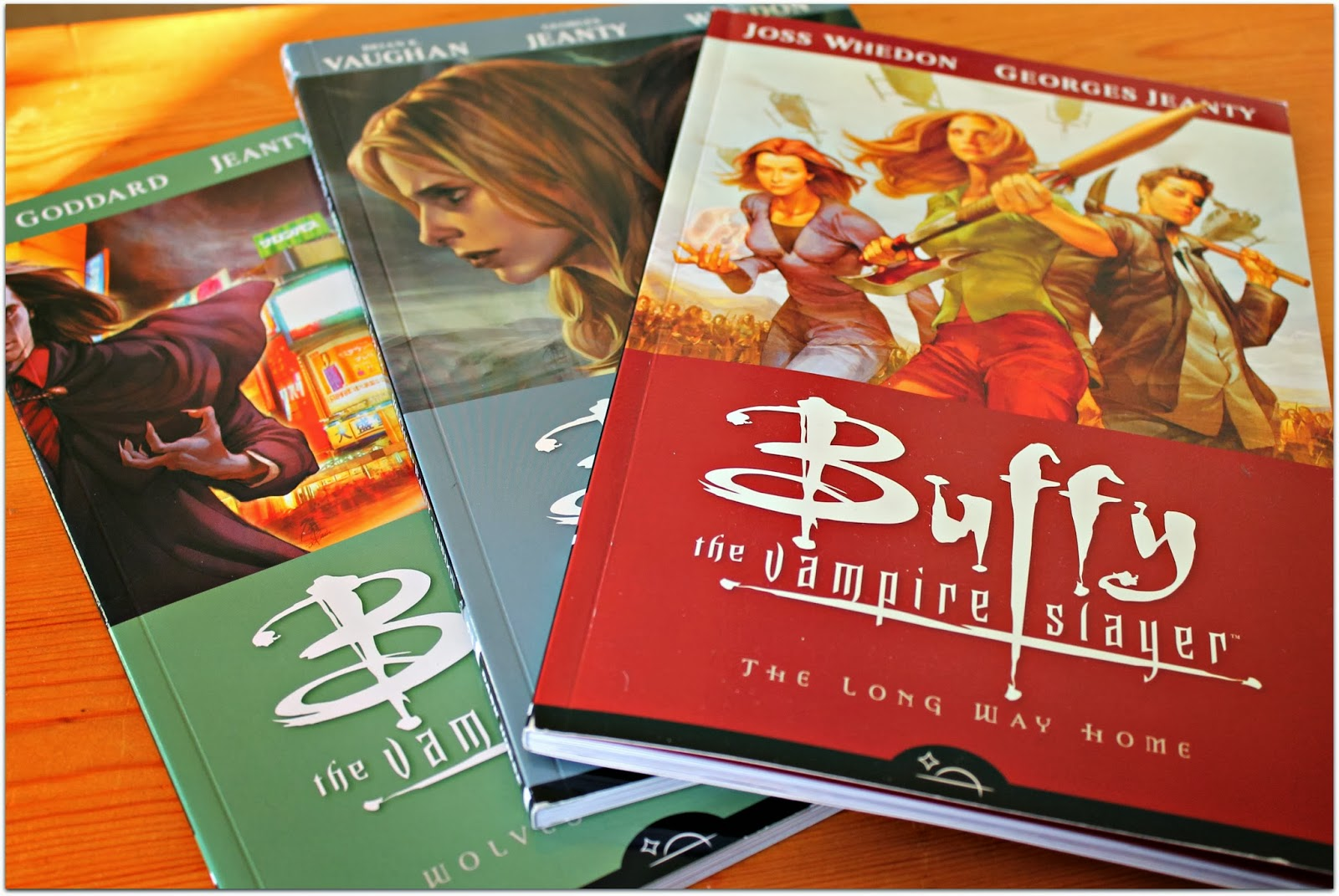 buffy the vampire slayer graphic novels