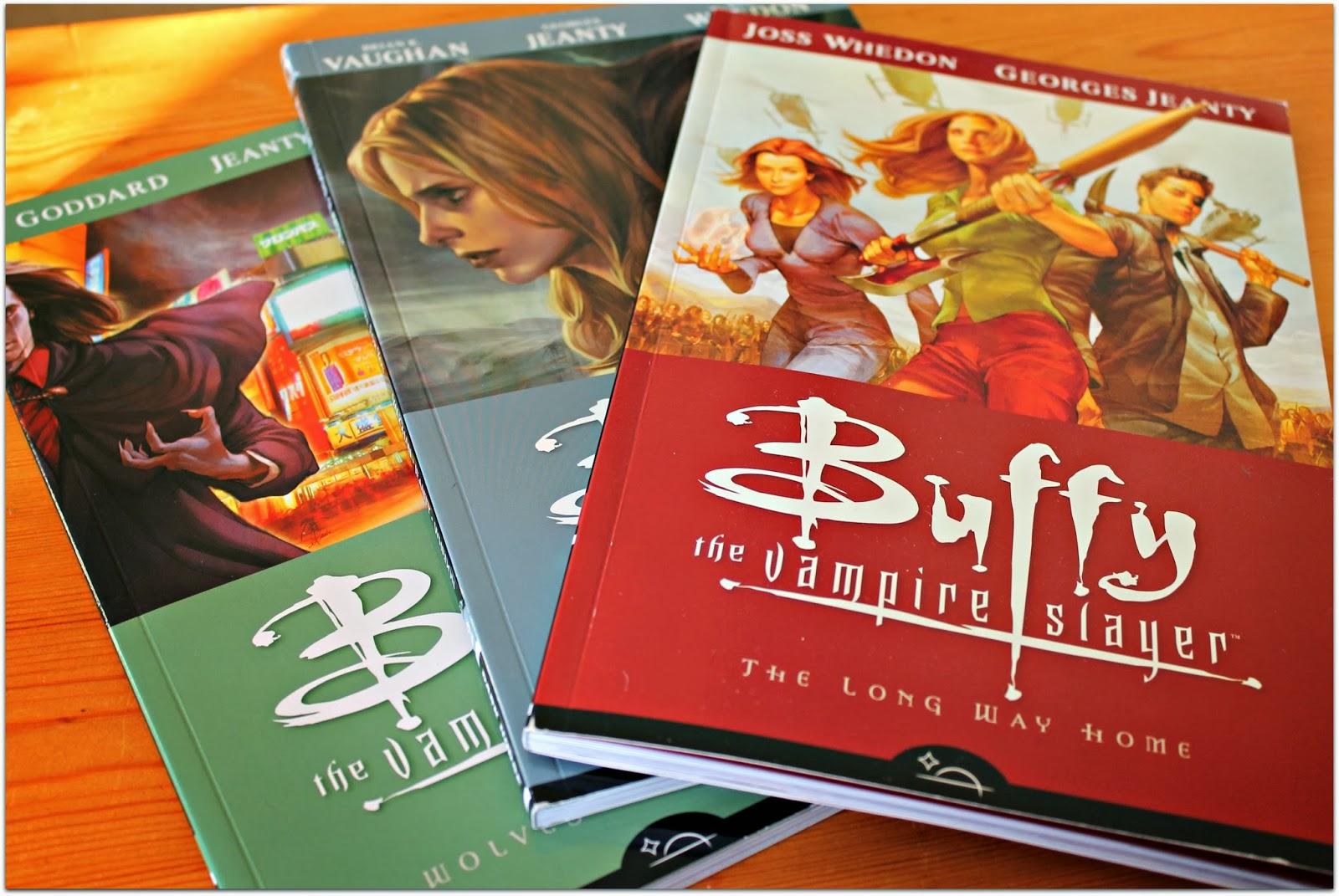 buffy the vampire slayer graphic novels