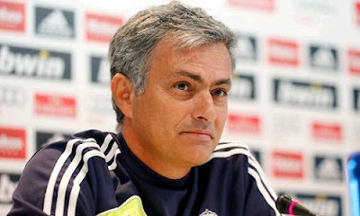 Mourinho at the press conference before Barcelona match