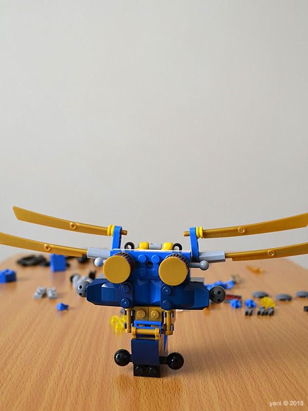 lego ninjago electromech - raise the wings