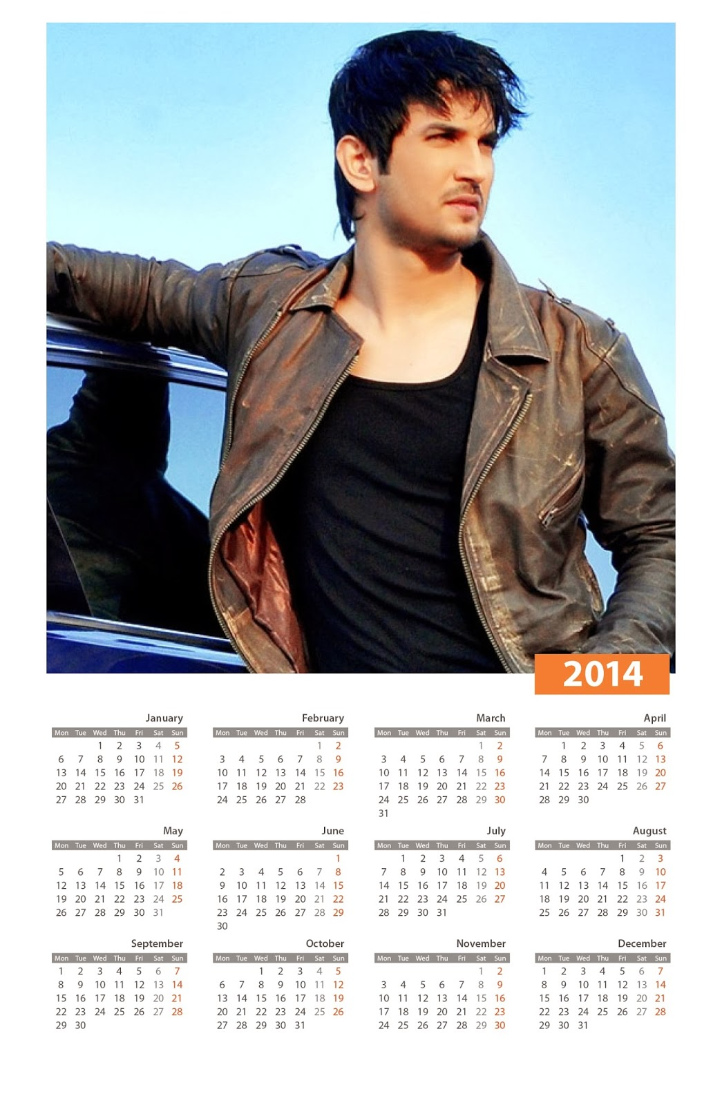 Celebrity Calendars 2014 - video dailymotion