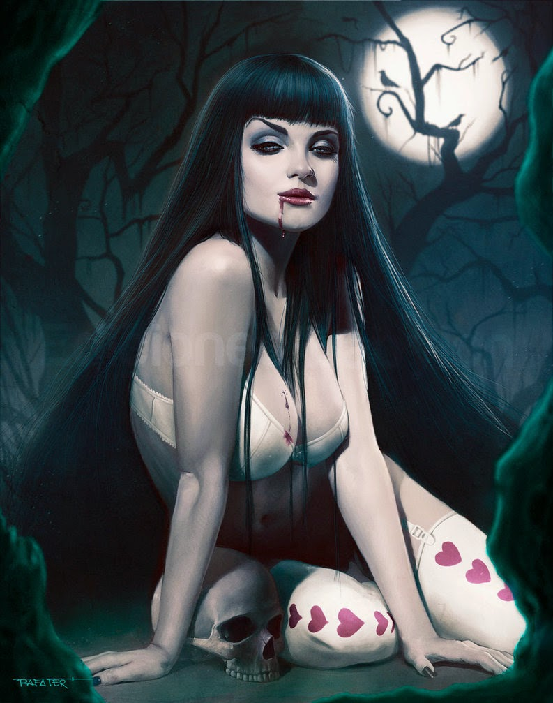 Vampire girl pic sexy photo