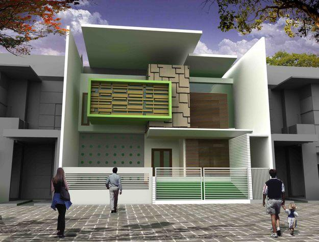 Gambar Desain Rumah Minimalis 2015 - Sketsa Denah Rumah
