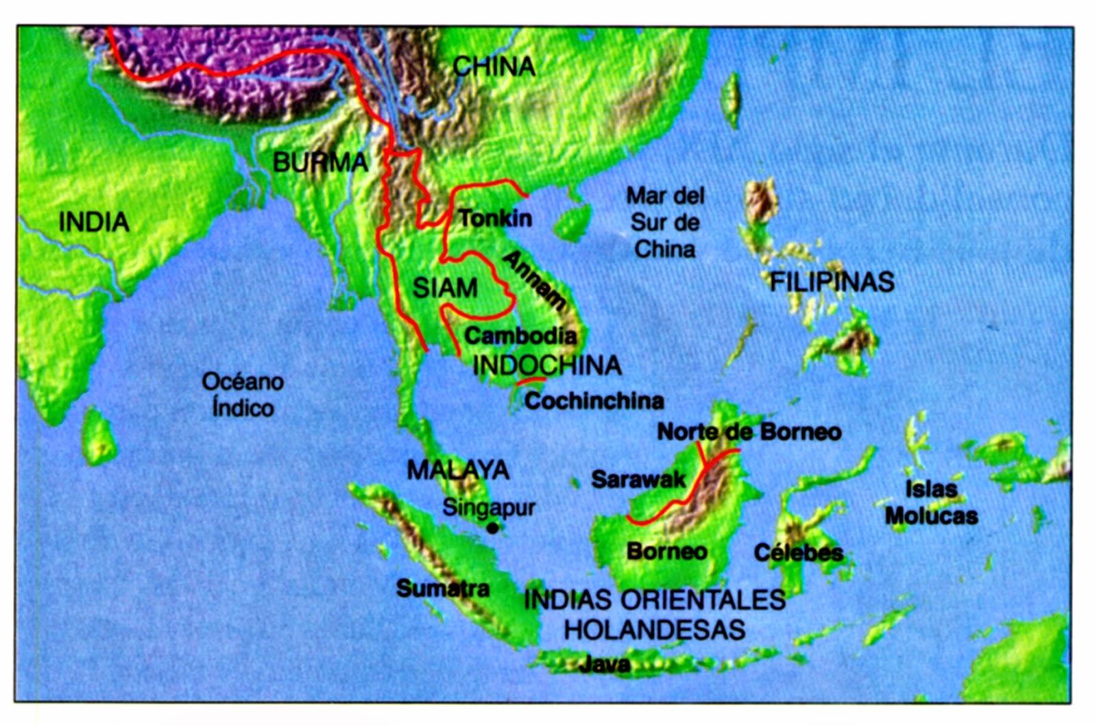 El suroccidente de Asia en el siglo XIX 1800  1913