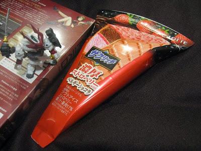 ザクリッチ:濃厚ストロベリーwithベルギーショコラ