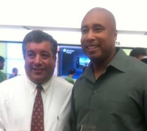 Microsoft Event with Bernie Williams
