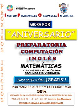POR ANIVERSARIO