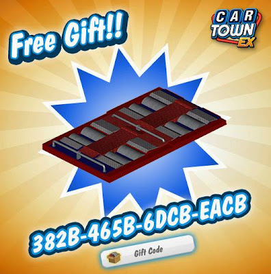 Car Town EX Free Gift Chassis Dynamometer